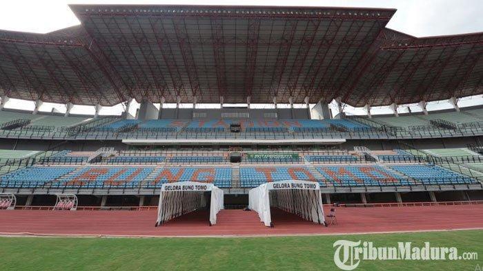 Pastikan Pertandingan Aman, Area Stadion Gelora Bung Tomo Surabaya Bakal Dikelilingi Pagar 3,6 Meter
