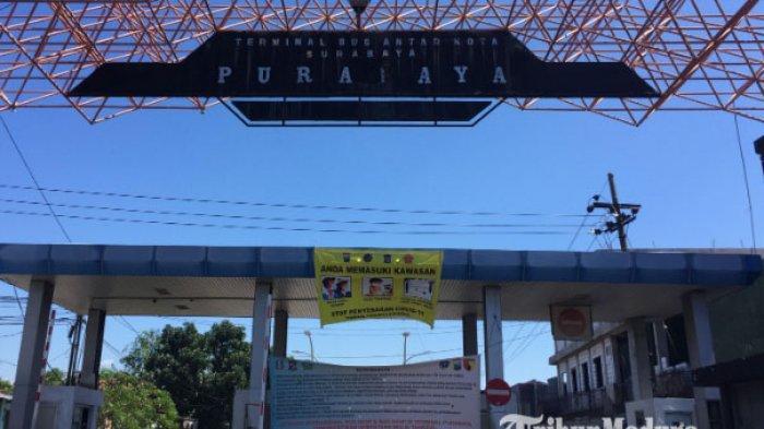 Hadapi New Normal, Terminal Purabaya Bikin Protokol Kesehatan, Penumpang Tujuan Bali Wajib Bawa SIKM