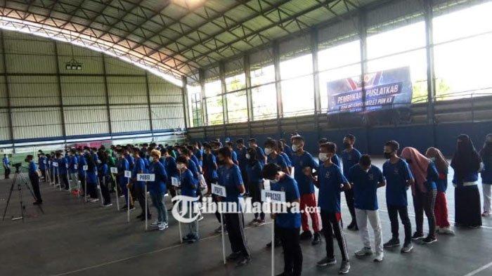 KONI Kabupaten Sampang Gelar Pembukaan Puslatkab, Sekaligus Melepas Atlet PON Papua XX