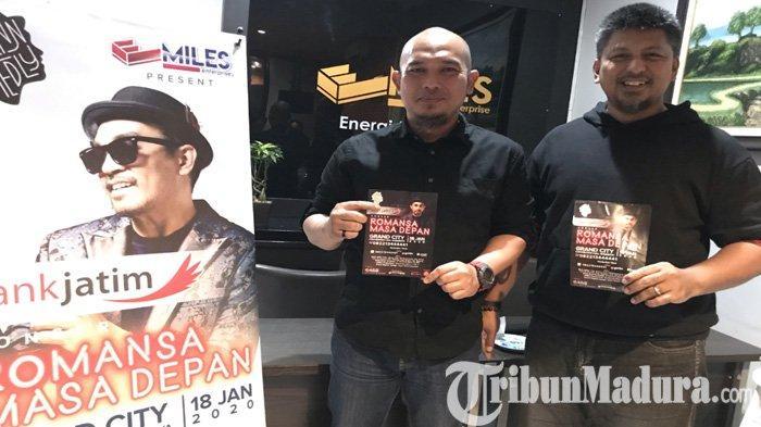 Awali Konser 25 Tahun Berkarya, Penyanyi Glenn Fredly Pilih Surabaya untuk Konser Romansa Masa Depan