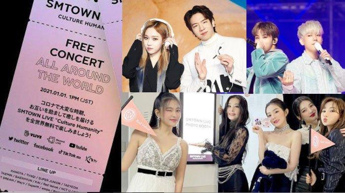 FAKTA-FAKTA Konser SMTOWN LIVE Culture Humanity 2021, Pecahkan Rekor hingga Comeback Wendy RedVelvet