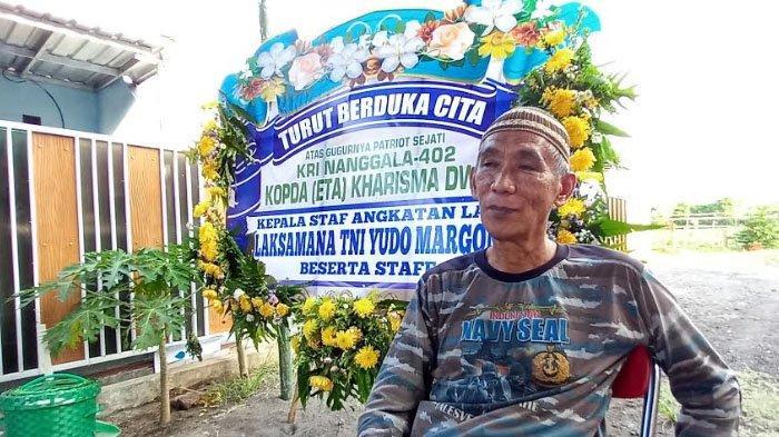 Korban KRI Nanggala 402, Ibunda Akui Kopda Eka Kharisma Dwi Datang Lewat Mimpi: Pulang Basah Kuyup