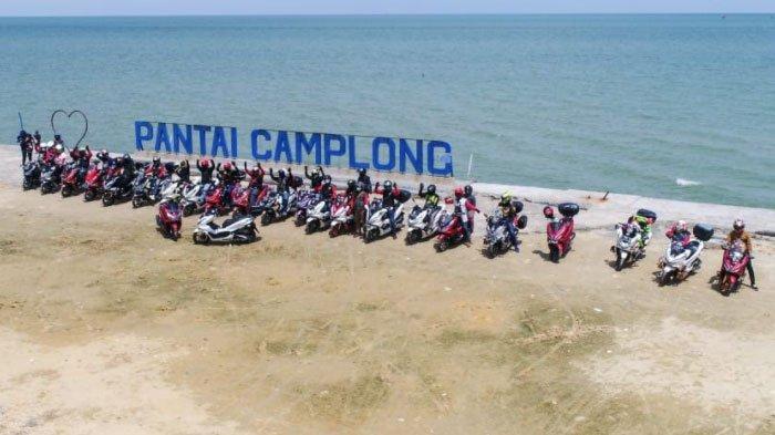 HPCI Jatim Gelar Kopdargab ke-4 di Pantai Camplong, Bagi-Bagi Sembako dan Bersih Pantai Juga