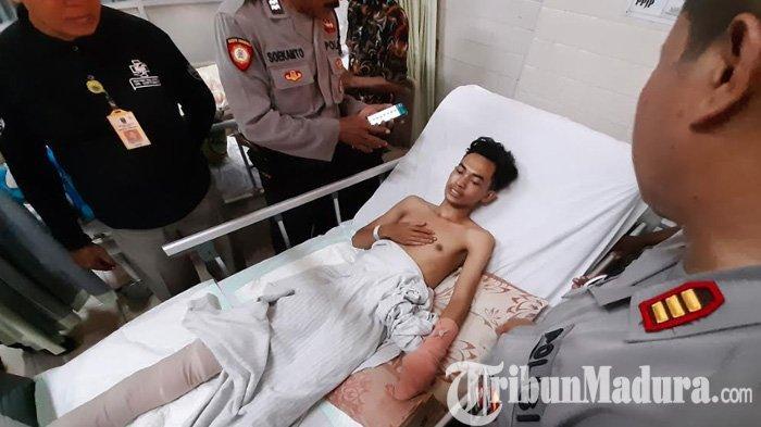 Kisah Memilukan Slamet Warga Lumajang Kehilangan Kaki, Korban Begal Sadis Surabaya asal Balongsari