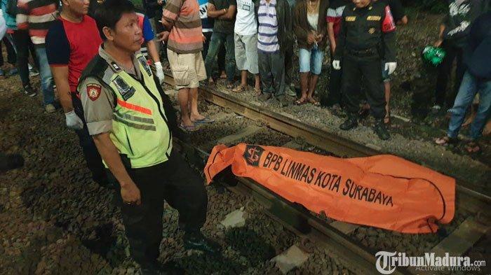 Polisi Ungkap Identitas Wanita yang Tewas Tersambar KA Pasundan di Surabaya, Ternyata Seorang IRT