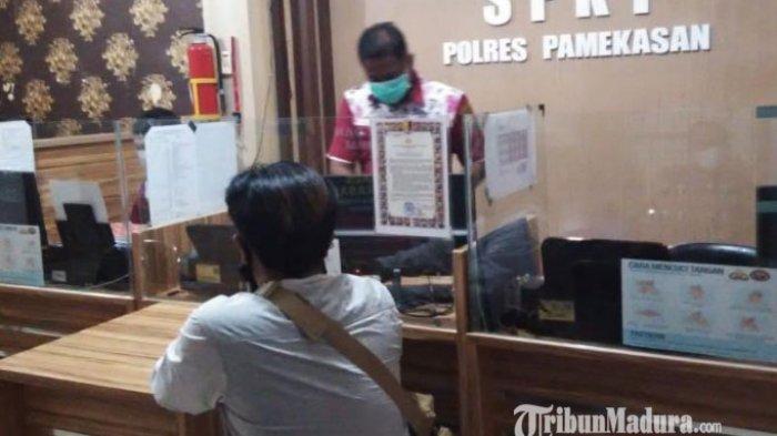 Wartawan TV, Korban Penganiayaan di Pamekasan Laporkan Oknum Massa Demo Tolak Wisata Bukit Bintang