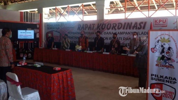 BREAKING NEWS: KPU Tetapkan Achmad Fauzi-Nyai Eva dan Fattah Jasin-Ali Fikri Paslon Pilkada Sumenep