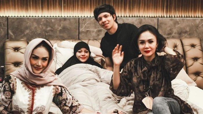 Kunjungi Aurel Hermansyah dan Atta Halilintar di Hari Lebaran, Krisdayanti: Semoga Selaras Bahagia