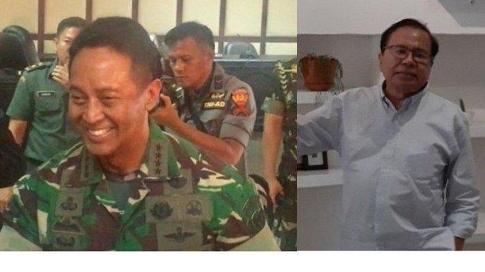 Gara-gara Cuitan Rizal Ramli, Perwira Letkol TNI AD ini Langsung Diburu KSAD Jenderal Andika Perkasa