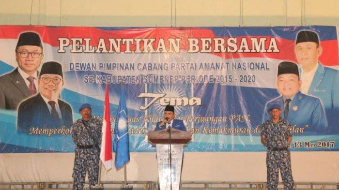 Pilkada Sumenep 2020: Pembina PAN Sumenep, Minta DPP Cabut SK Dukungan ke Achmad Fauzi-Dewi Khalifah