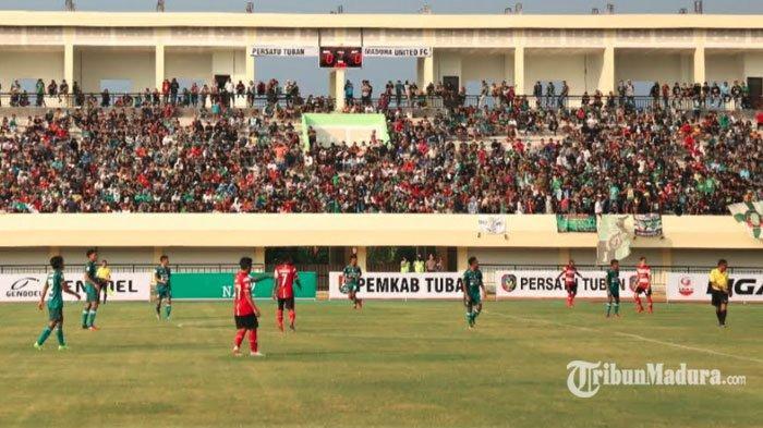 Madura United Kalahkan Persatu Tuban 2-1 Dalam Laga Uji Coba Jelang Lawan Persebaya