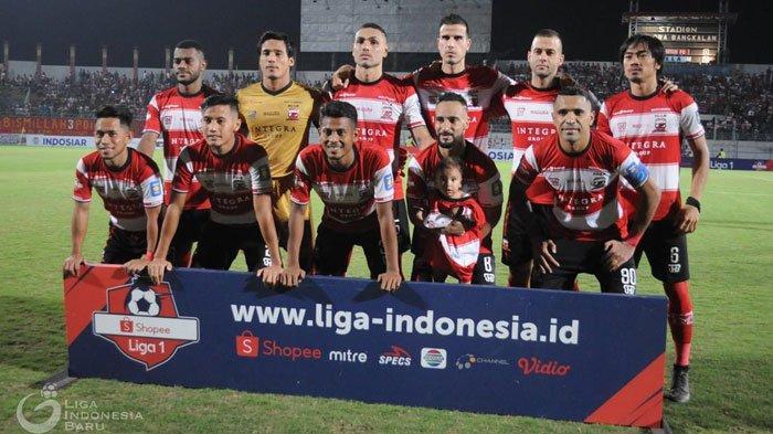 Madura United Sukses Patahkan Catatan Buruk Tanpa Kemenangan,Kalahkan Kalteng Putra dengan Skor 4-1