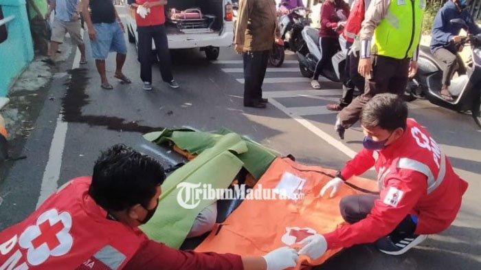 Kecelakaan Maut di Kota Malang, Pengendara Motor Honda Beat Jadi Korban