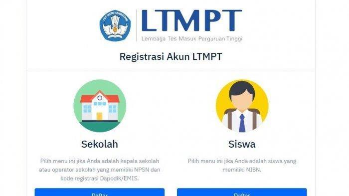 Registrasi Akun LTMPT Diperpanjang, Simak Info Terbaru Pendaftaran SNMPTN 2021