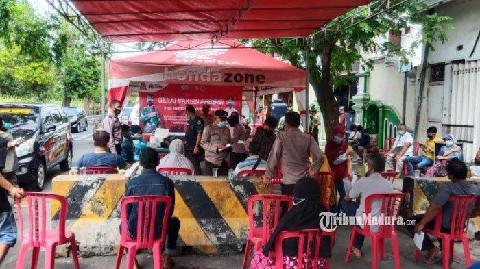 Home Care Vaksin Polres Pelabuhan Tanjung Perak Surabaya, Solusi Vaksinasi Covid-19 Tanpa Kerumunan