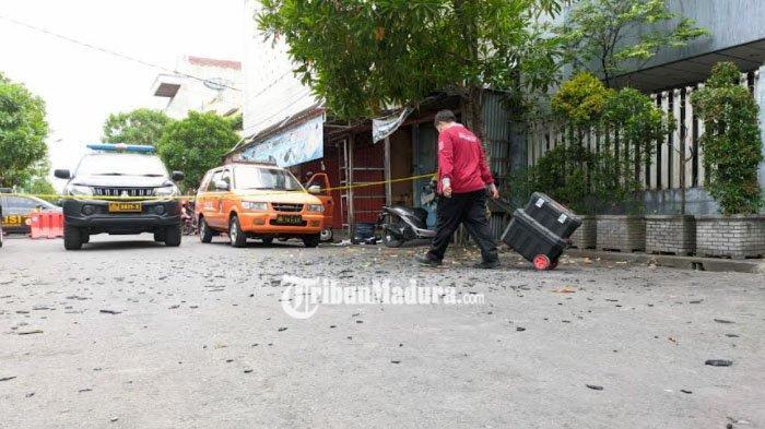 Polisi Amankan Tabung Gas Elpiji Diduga Pemicu Ledakan Yang Menghancurkan Rumah di Kota Mojokerto
