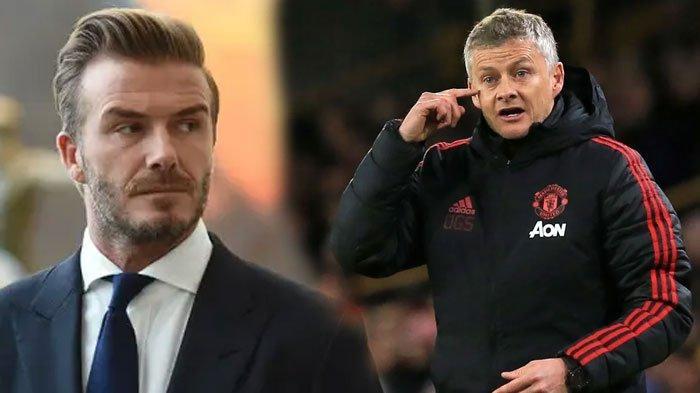 David Beckham Sebut Solskjaer Sudah Berikan Harapan ke Manchester United Meski Belum Raih Trofi