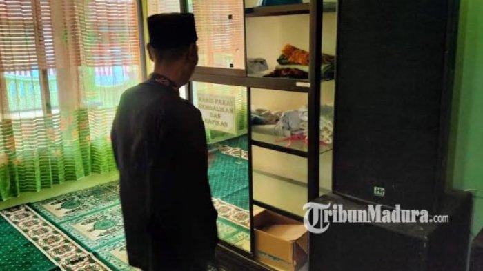 Aksinya Terekam CCTV, Anak dan Wanita Curi 12 Mukena dan Sajadah di Masjid Darul Muttaqin Malang