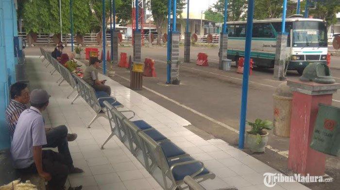 Belum Terjadi Lonjakan Penumpang di Terminal Bondowoso Memasuki Libur Natal dan Tahun Baru
