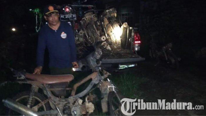 Polisi Blitar Dengar Suara Orang Tebang Pohon di Hutan, Saat Digerebek Hanya Temukan Motor Butut