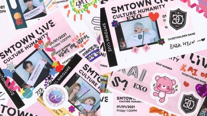 SEDANG BERLANGSUNG, Ini Link Nonton Konser SMTOWN LIVE Culture Humanity 2021, Ada EXO hingga NCT