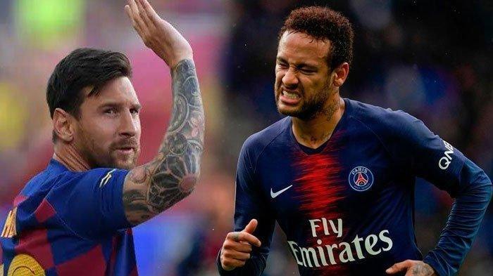 Neymar dan Lionel Messi Gagal Berduet di Barcelona, Neymar Siap Perpanjang Kontrak dengan PSG