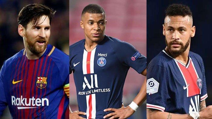 Trio Messi, Neymar, Mbappe Bersatu di PSG? Gelandang PSG Sebut Kemungkinan dan Singgung Aturan