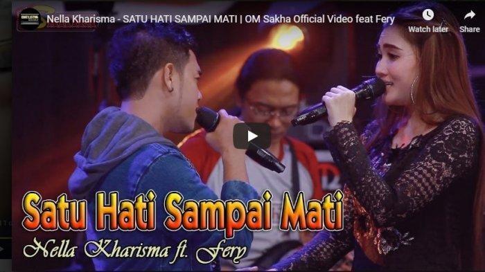 Lirik dan Chord Lagu 'Satu Hati Sampai Mati' Dangdut Koplo Nella Kharisma, Kunci Gitar bagi Pemula