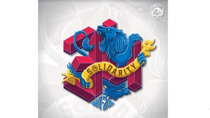 Makna Logo dan Slogan Spesial Ulang Tahun ke-34 Klub Arema FC, Mengusung Tema Solidarity