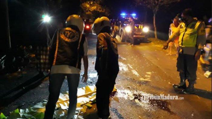 Kecelakaan Motor Adu Moncong di Mojokerto, Dua Korban Terpental ke Aspal hingga Meninggal di Lokasi