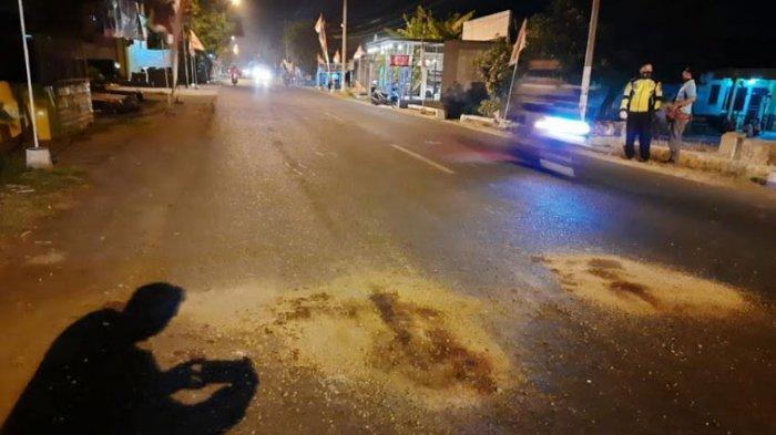 Bersenggolan dengan Sepeda Motor Lain, Pasangan Suami Istri Tewas di Jalan Tanggulangin Sidoarjo