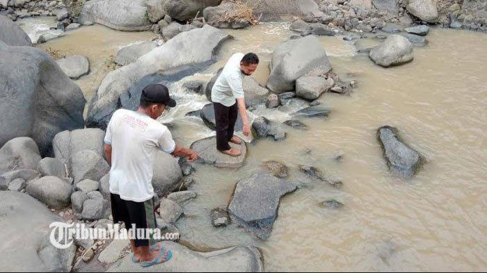 Diduga Tak Bisa Berenang, Siswa SD Tenggelam di Sungai Penuh Batu Kedalaman 4 Meter di Mojokerto