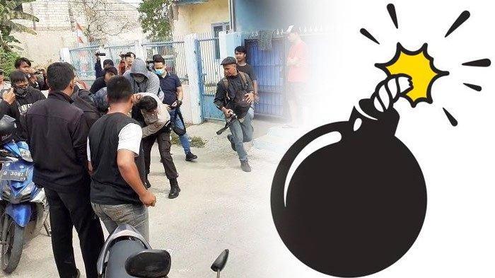 Warga Histeris Saat Terduga Teroris Ditangkap, ada Barang Titipan, Sempat Ngira Cucian Ternyata Bom