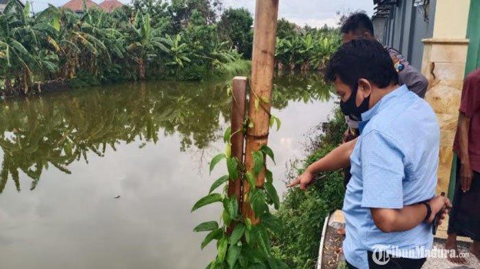 Ikut Ibu ke Rumah Paman, Bocah 4 Tahun Tenggelam di Tambak Tetangga, Ditemukan sudah Tak Bernyawa