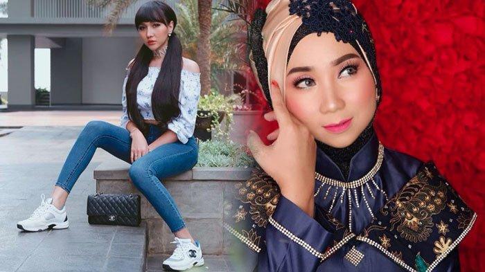 Usai Ejek Barbie Kumalasari, Lucinta Luna Kini Hina Wajah Penyanyi Asal Malaysia, ini Respon Upiak