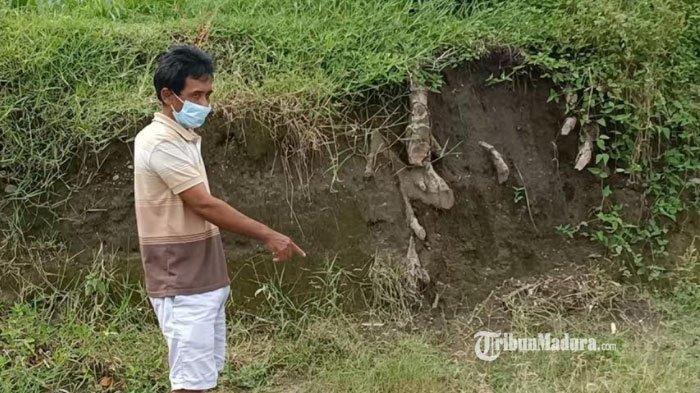Benda Langka Ditemukan Warga saat Menggali Tanah untuk Tanam Pohon, Diduga Terbawa Arus Sungai Lahar