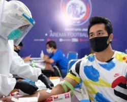 Hasil Rapid Test Arema FC, Kloter Pertama 44 Skuat - Official Arema FC Non-reaktif