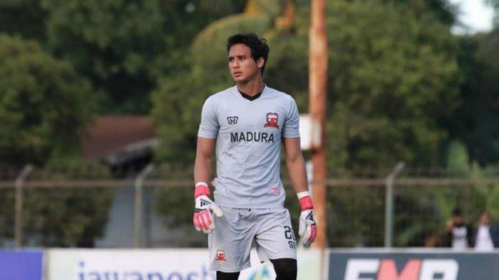 Jelang Lawan Bhayangkara FC, Penjaga Gawang Madura United Puji Penampilan Awan Setho