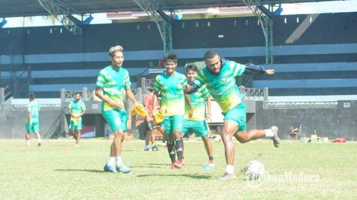 Madura FC Vs Martapura FC, Laskar Jokotole Diminta Tak Remehkan Lawan, Madura FC Beri Motivasi