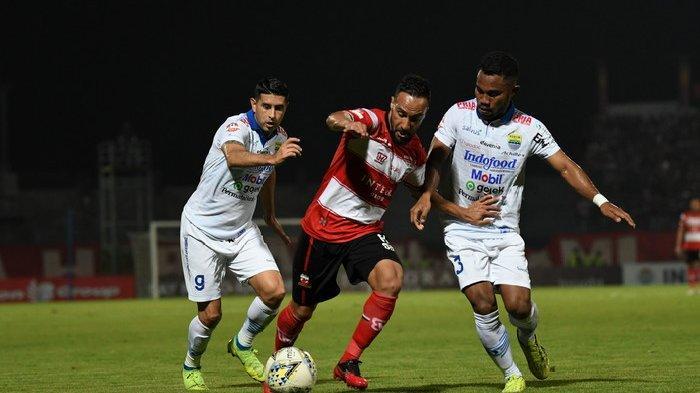 Alberto Goncalves Jadi Pahlawan, Madura United Hancurkan Persib Bandung dan Perpanjang Rekor
