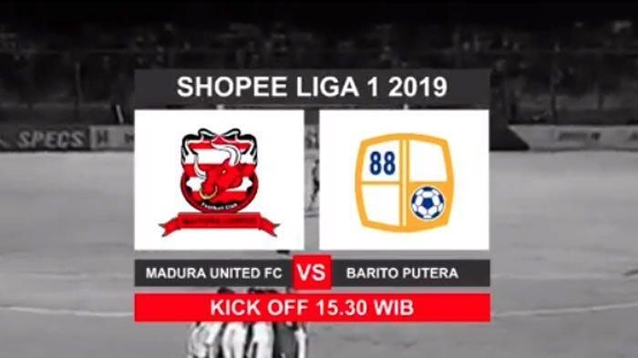 Madura UnitedTertinggal 2 Gol dariBarito Putera, Gol Tim Tamu Dicetak dari Heading Rafael Silva