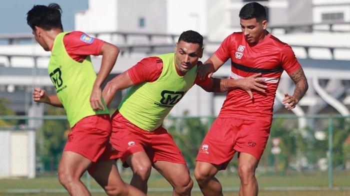 Telat Gabung dengan Tim, 4 Pemain AsingMadura United Dapat Menu Latihan Khusus dari Pelatih