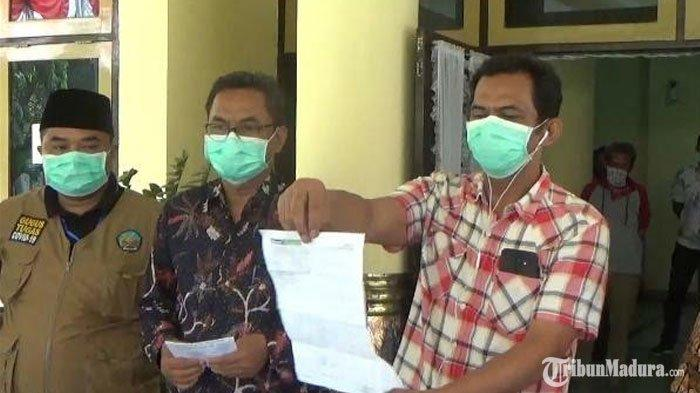 Dinyatakan Positif Virus Corona,Anggota DPRD Bangkalan ini Menolak Diisolasi: Saya Mau Ngantor