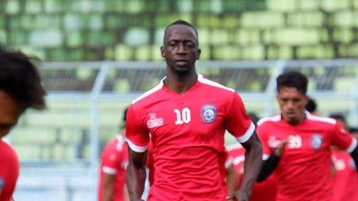 Persib Bandung Vs Arema FC,Makan Konate Beri Kiat Bungkam Maung Bandung di Kandangnya Sendiri
