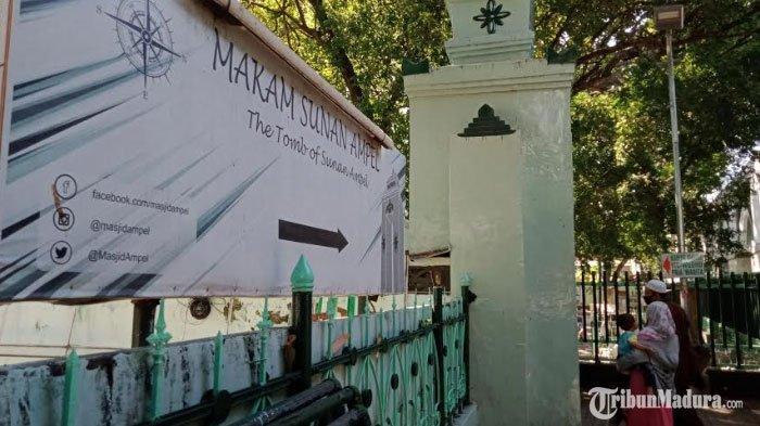 Kawasan Wisata Religi Sunan Ampel Kembali Dibuka Untuk Umum, Pengunjung Wajib Perhatikan Hal Ini