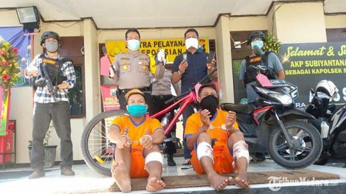 Komplotan Maling Sepeda Angin di Surabaya Ditembak Polisi, Berupaya Kabur dalam Proses Penangkapan
