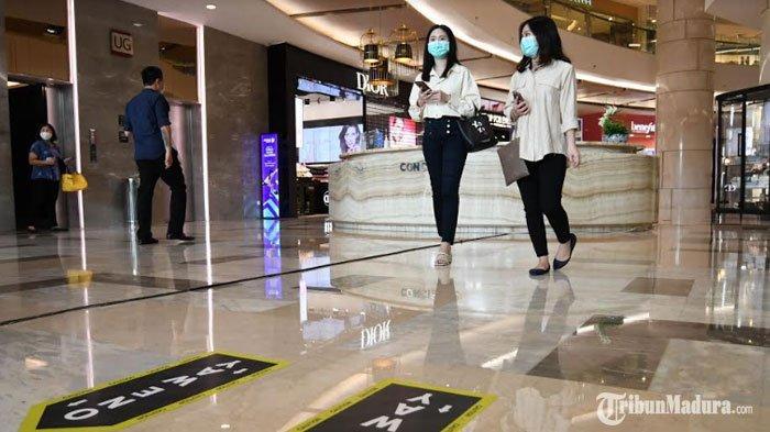 Tunjungan Plaza Surabaya Terapkan Sistem One Way, Antar Pengunjung Diklaim Tak Bisa Berpapasan