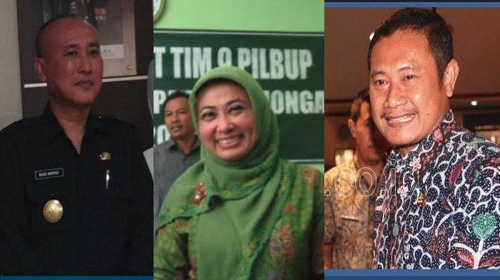 Perang Bintang di Pilkada Lamongan, WABUP SEKDA ANAK BUPATI dan mantan Pj Bupati Saling Berhadapan