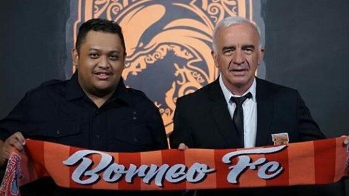 Mundur dari Arema FC, Mario Gomez Kembali Berlabuh di Borneo FC