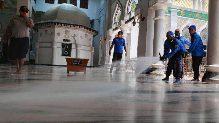 Tuban Masuk Zona Oranye Covid-19, Jemaah Salat Idul Fitri Dibatasi 15 Persen dari Kapasitas Masjid